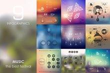 9 music infographics