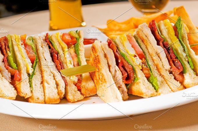 triple deck club sandwich 07.jpg - Food & Drink