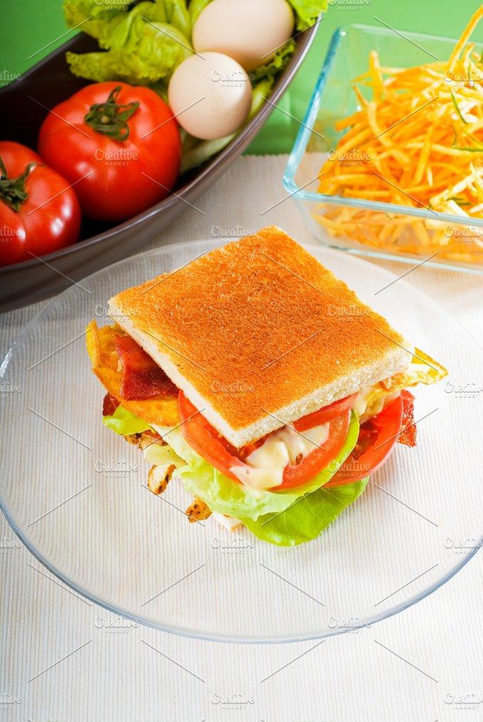 club sandwich 2.jpg - Food & Drink
