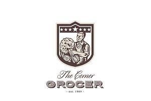 The Corner Green Grocer Logo