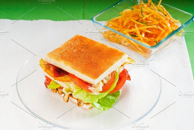 club sandwich 11.jpg - Food & Drink