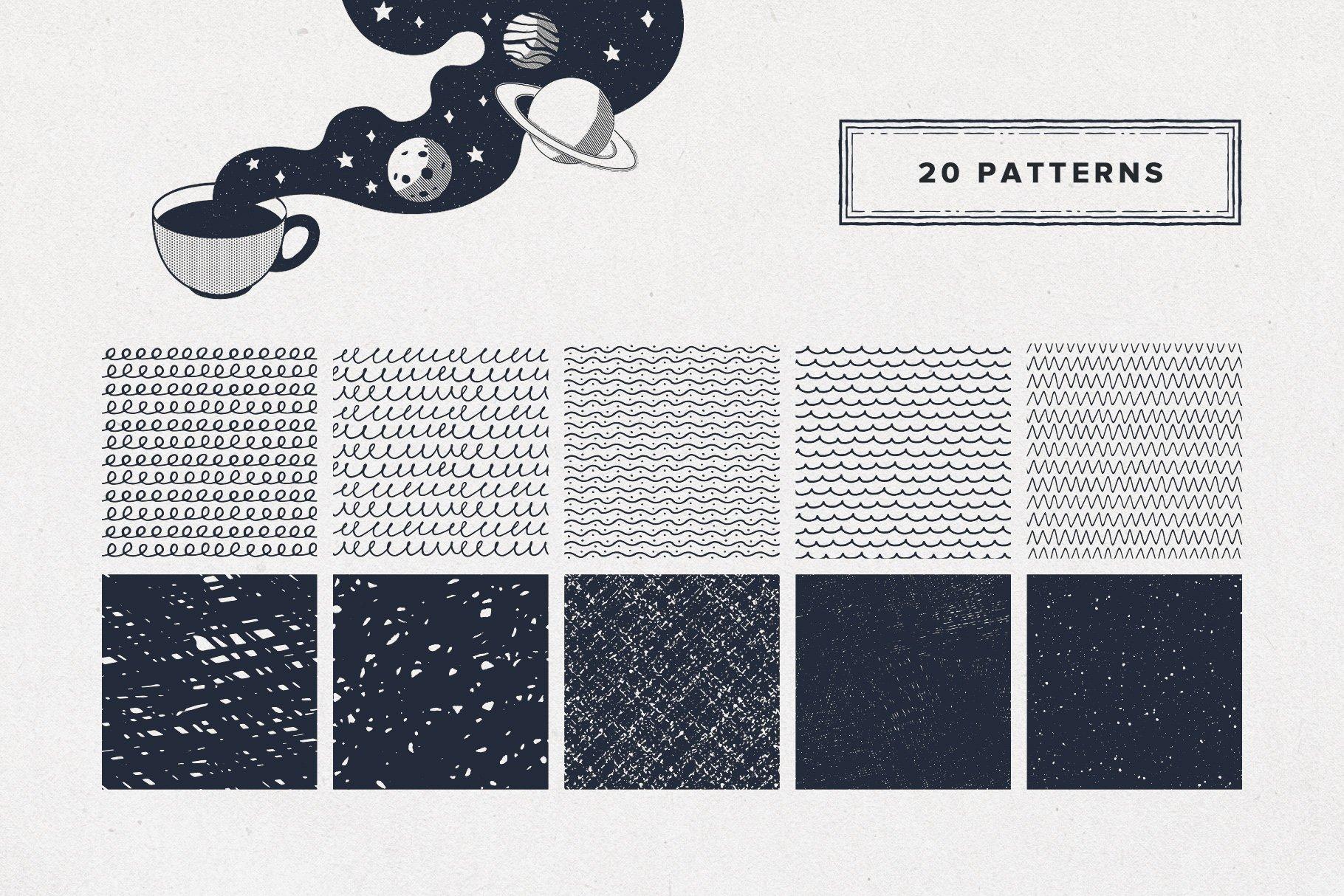 8 patterns 8