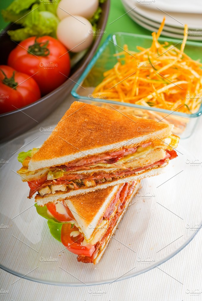 club sandwich 27.jpg - Food & Drink