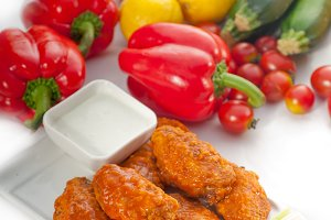 spicy chicken wings and vegetables 02.jpg