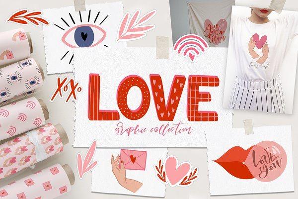 Love. Graphic Collection