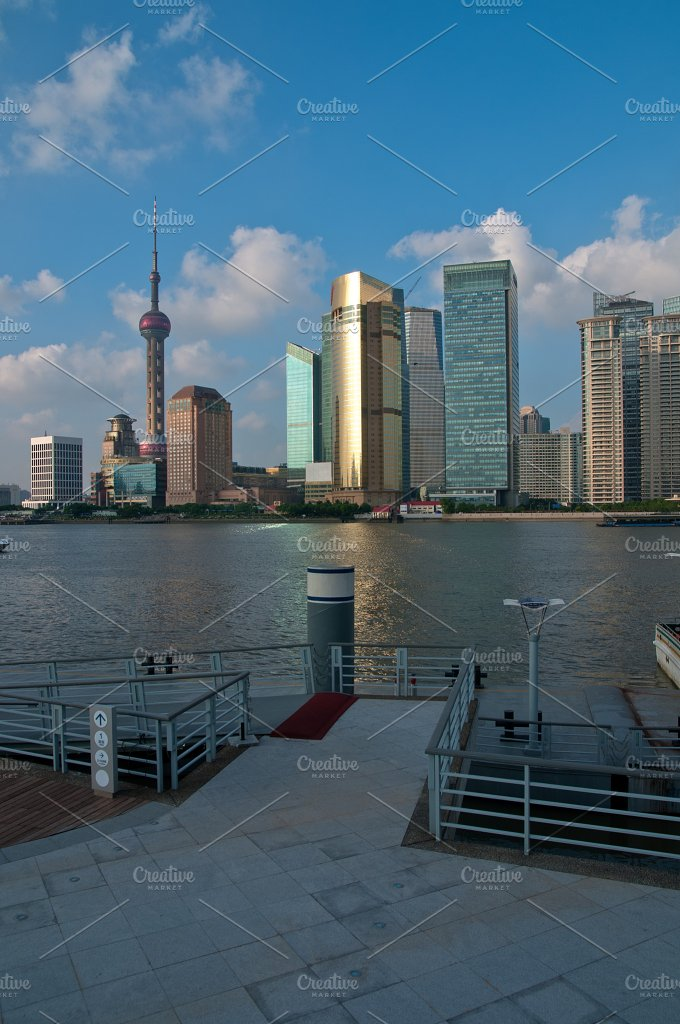 Shanghai pudong view from the bund.jpg - Architecture
