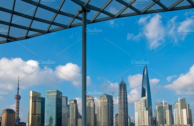 Shanghai pudong view from the bund 3.jpg - Architecture