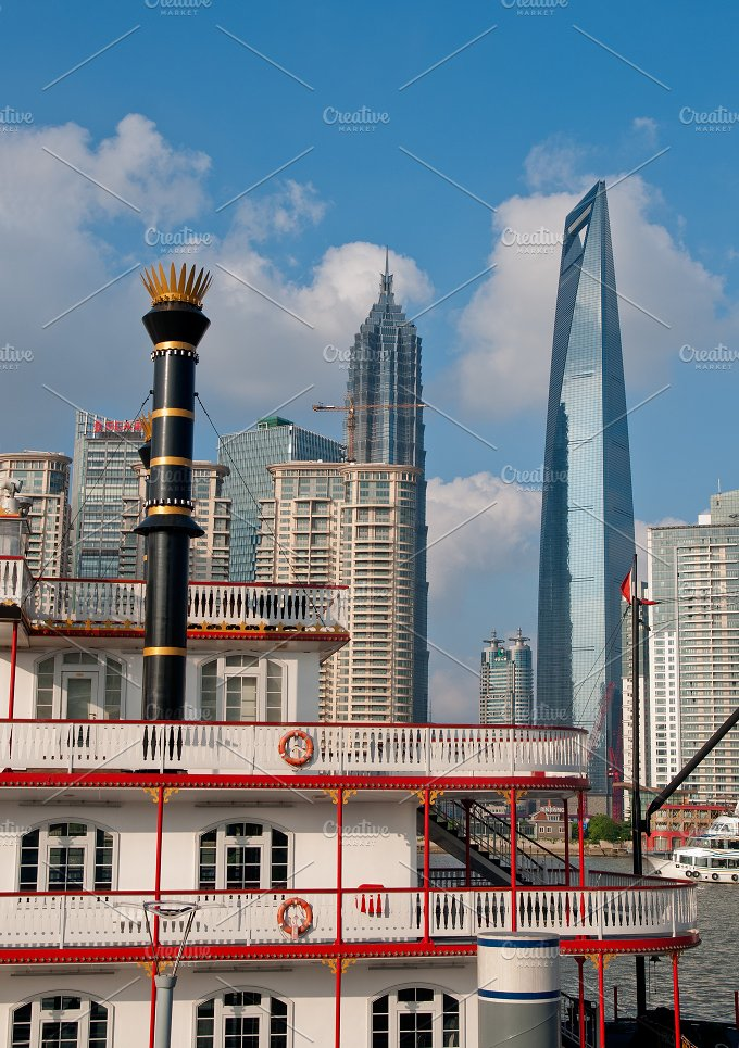 Shanghai pudong view from the bund 19.jpg - Architecture