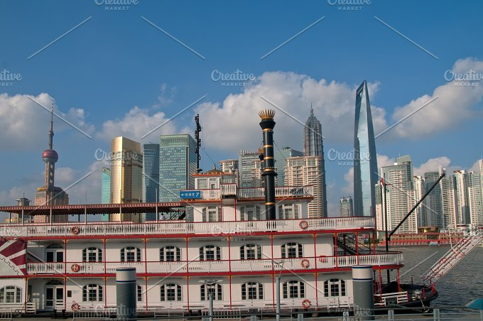 Shanghai pudong view from the bund 21.jpg - Architecture