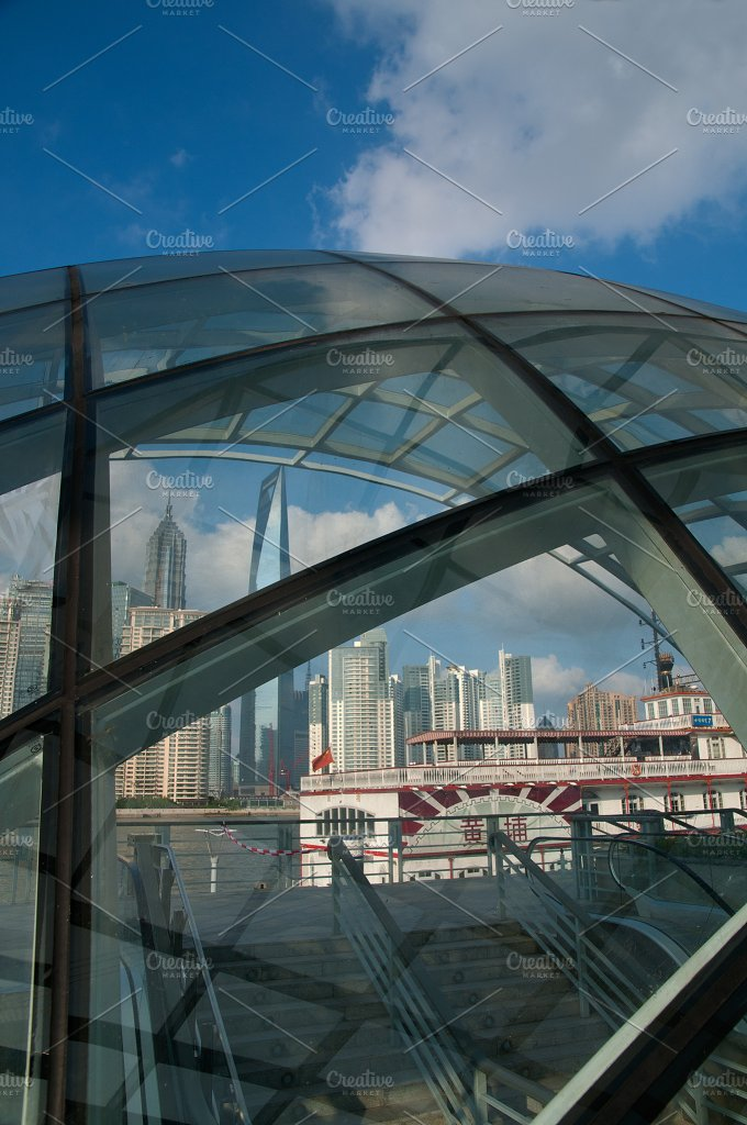 Shanghai pudong view from the bund 27.jpg - Architecture