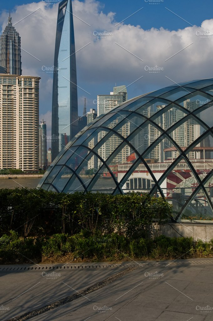 Shanghai pudong view from the bund 30.jpg - Architecture