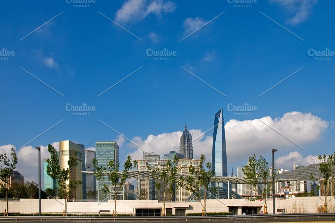 Shanghai pudong view from the bund 36.jpg - Architecture