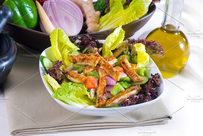 sesame chicken salad 11.jpg - Food & Drink