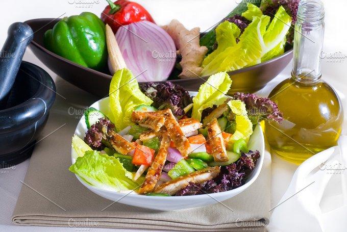 sesame chicken salad 15.jpg - Food & Drink