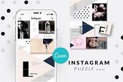 CANVA   Instagram PUZZLE - Geometric