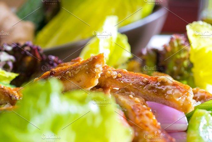 sesame chicken salad 22.jpg - Food & Drink