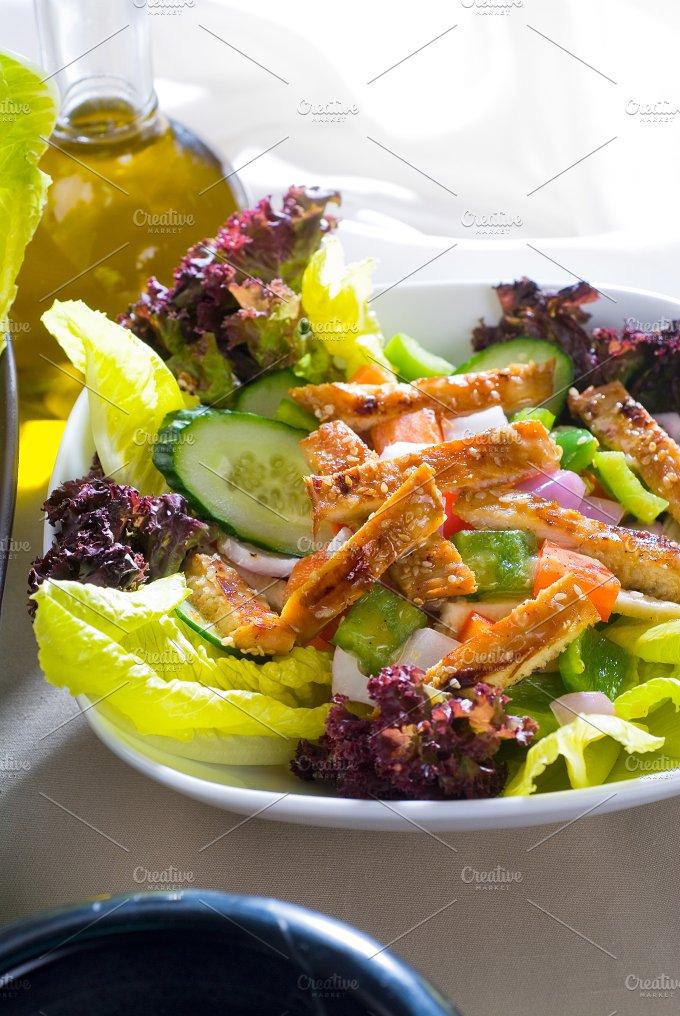 sesame chicken salad 26.jpg - Food & Drink