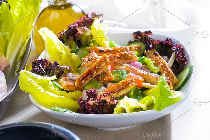 sesame chicken salad 32.jpg - Food & Drink