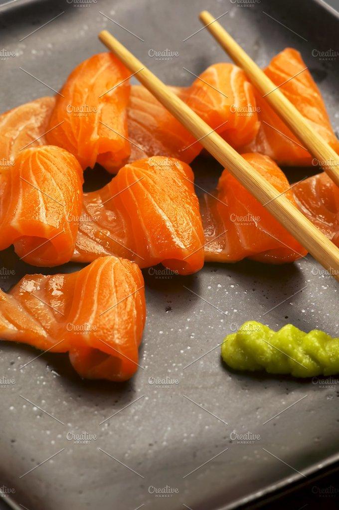 salmon sushi 2.jpg - Food & Drink