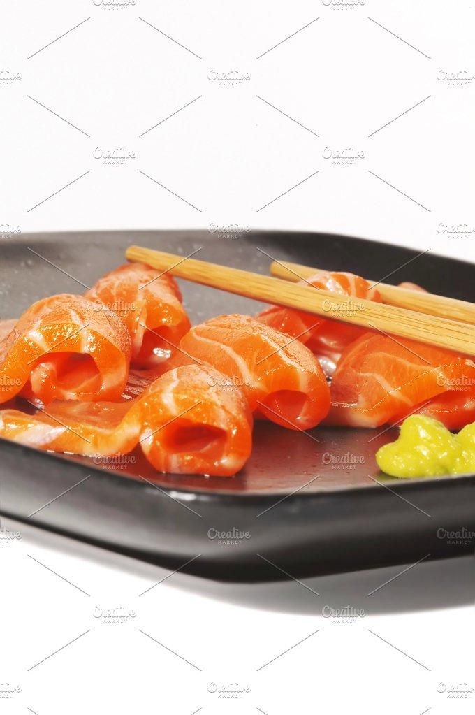 salmon sushi 3.jpg - Food & Drink
