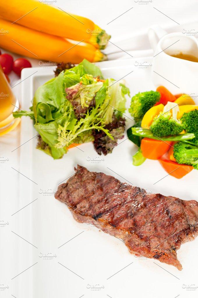 ribeye beef steak with fresh salad 14.jpg - Food & Drink