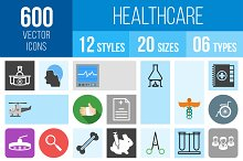 600 Healthcare Icons