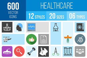 600 Healthcare Icons