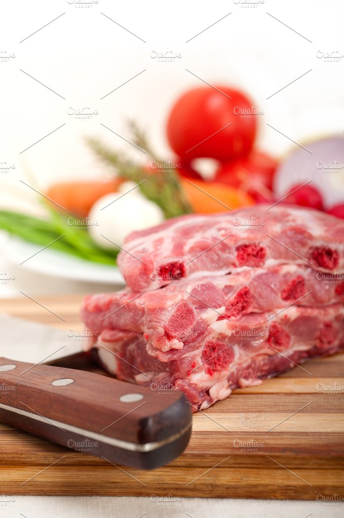 raw pork ribs 04.jpg - Food & Drink
