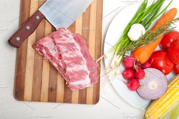 raw pork ribs 08.jpg - Food & Drink