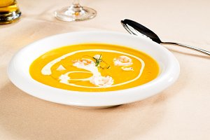pumpking and shrimps soup  05.jpg
