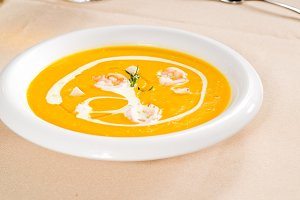 pumpking and shrimps soup  01.jpg