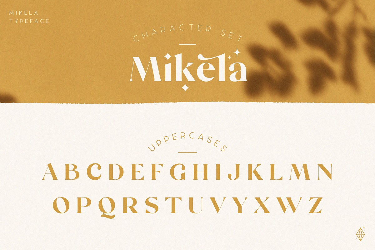 Mikela - 50% OFF Gorgeous Typefaces in Serif Fonts - product preview 8