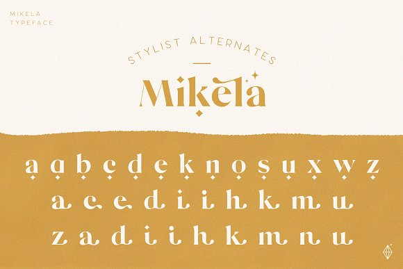 Mikela - 50% OFF Gorgeous Typefaces in Serif Fonts - product preview 2