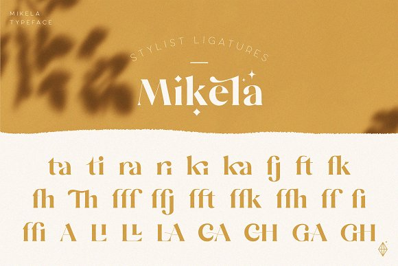 Mikela - 50% OFF Gorgeous Typefaces in Serif Fonts - product preview 4