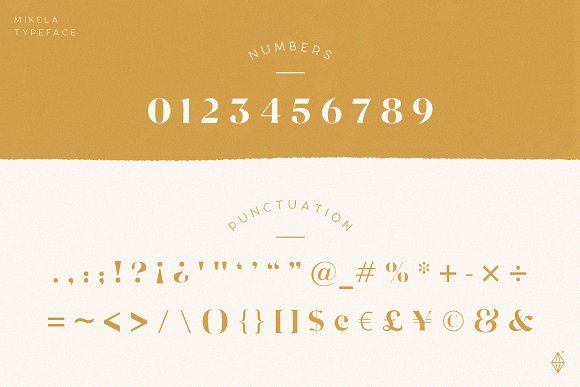 Mikela - 50% OFF Gorgeous Typefaces in Serif Fonts - product preview 5