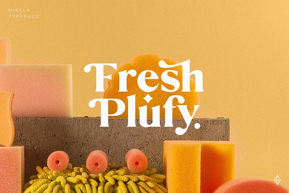 Mikela - 50% OFF Gorgeous Typefaces in Serif Fonts - product preview 7