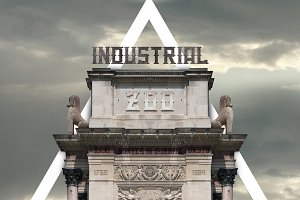 Industrial Zoo - font pack