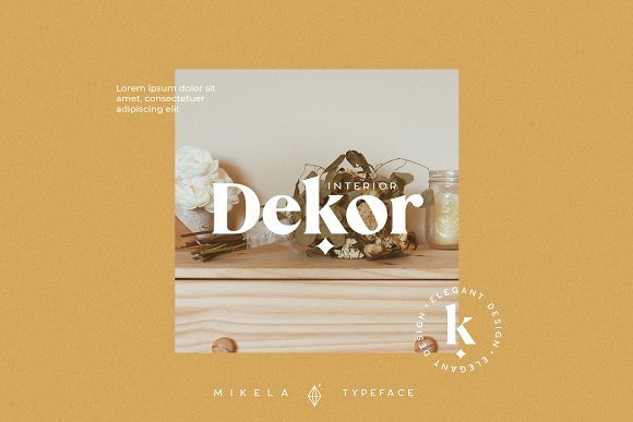 Mikela - 50% OFF Gorgeous Typefaces in Serif Fonts - product preview 9