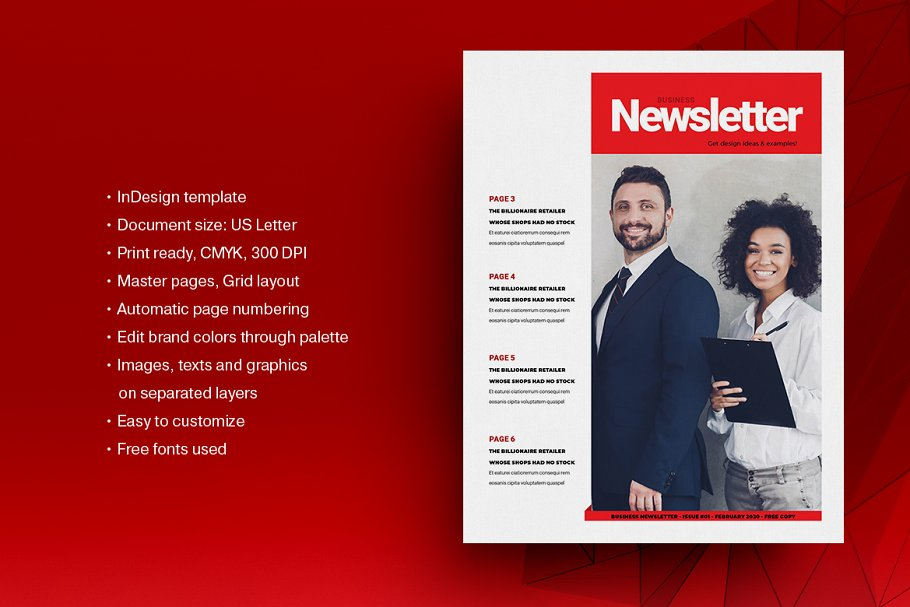 Red Business Newsletter