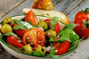 Fresh Tomatoes Salad