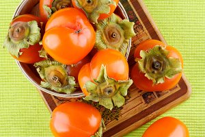 Delicious Raw Persimmon