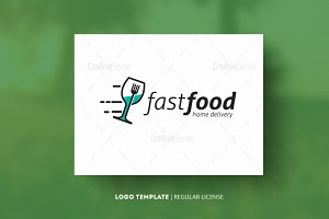 Fast Food (Template Logo)