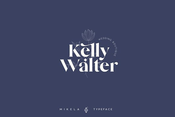 Mikela - 50% OFF Gorgeous Typefaces in Serif Fonts - product preview 10