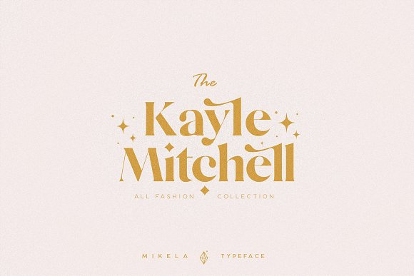 Mikela - 50% OFF Gorgeous Typefaces in Serif Fonts - product preview 12