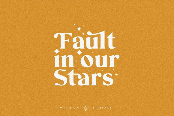 Mikela - 50% OFF Gorgeous Typefaces in Serif Fonts - product preview 15