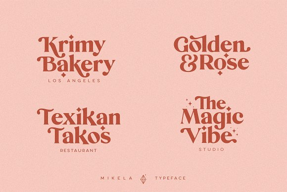 Mikela - 50% OFF Gorgeous Typefaces in Serif Fonts - product preview 18
