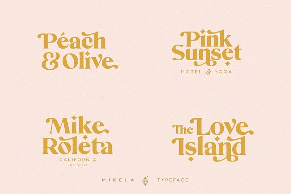 Mikela - 50% OFF Gorgeous Typefaces in Serif Fonts - product preview 19