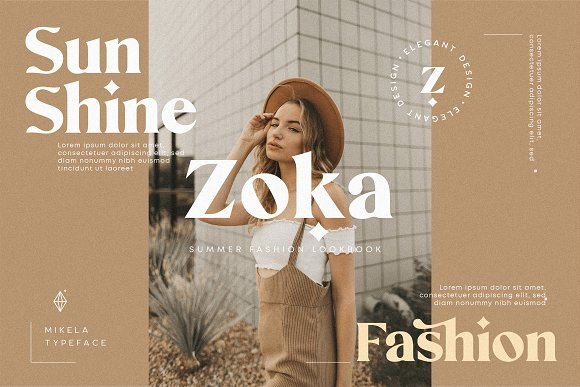 Mikela - 50% OFF Gorgeous Typefaces in Serif Fonts - product preview 20