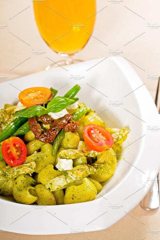 pasta pesto and vegetables 11.jpg - Food & Drink