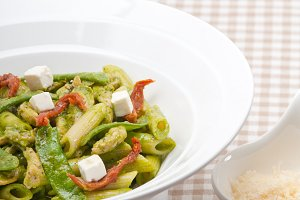 pasta penne pesto chicken and sundried tomatoes 04.jpg